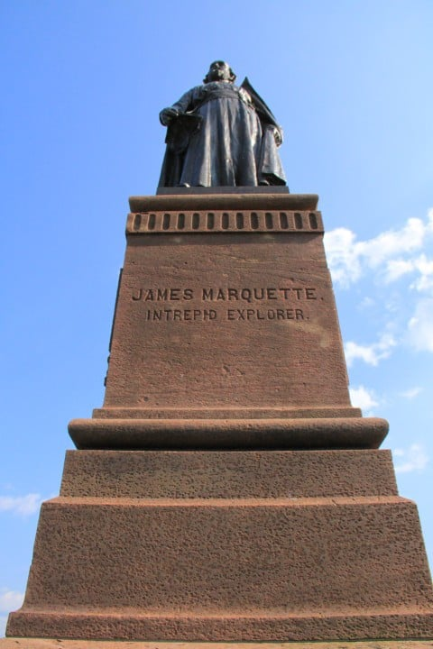 Father Jacques Marquette - #MittenTrip - Marquette - The Awesome Mitten
