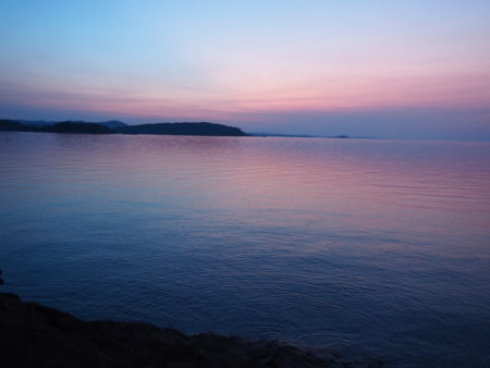 Outside In Marquette, Icy Plunges And Beautiful Sunsets