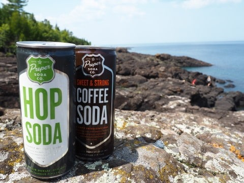 Proper Soda at Black Rocks at Presque Isle Park - #MittenTrip Marquette - The Awesome Mitten