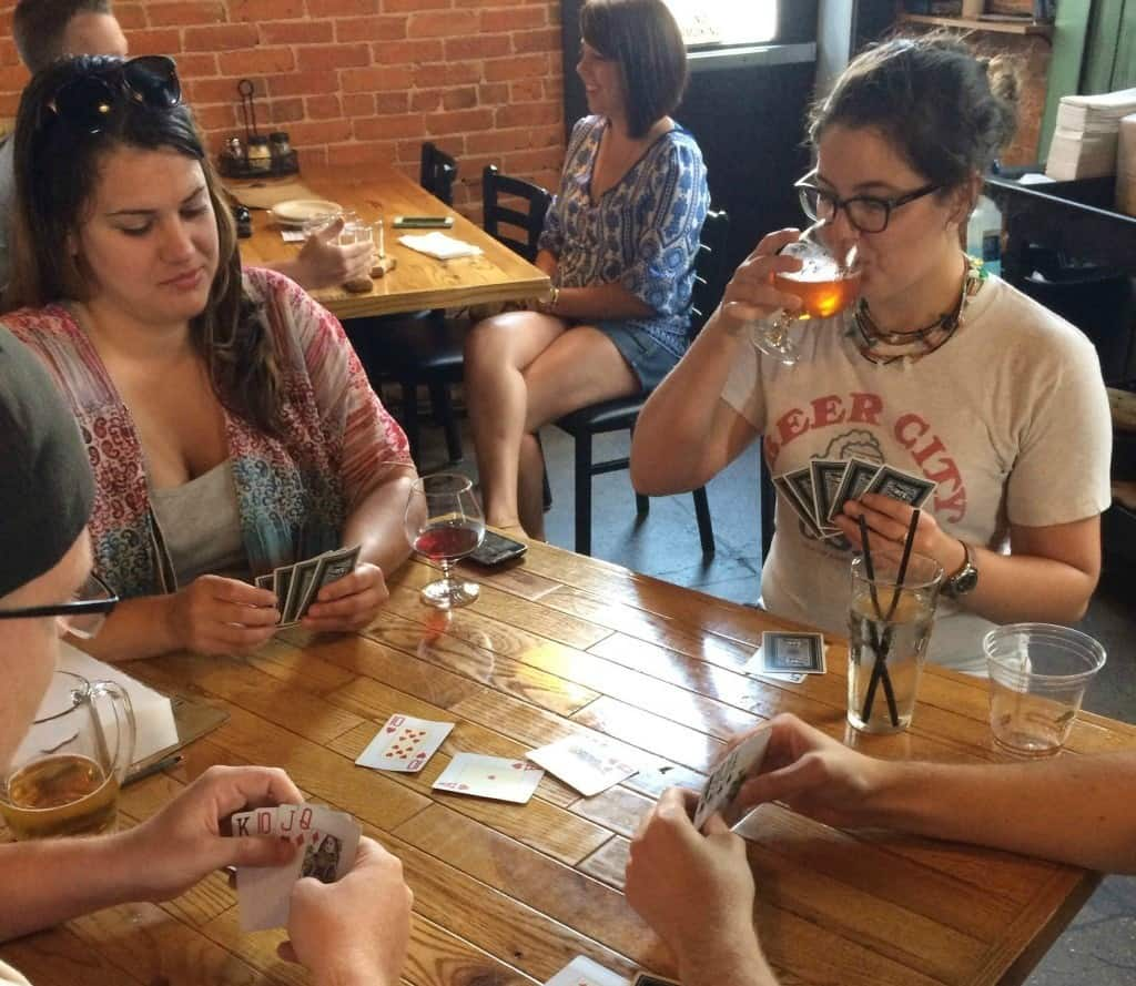 michigan card game euchre - the awesome mitten