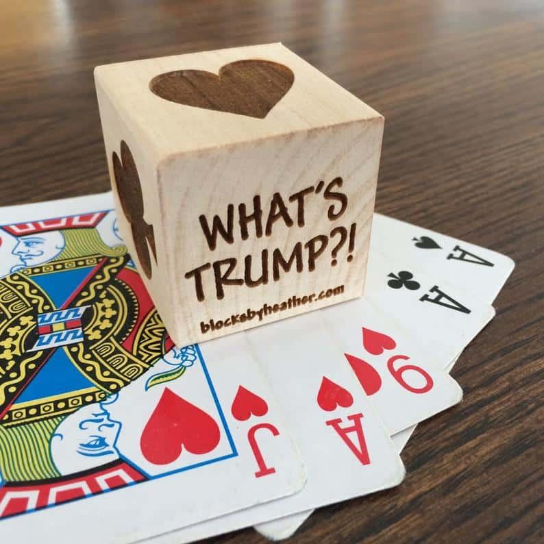 Euchre Trump Block - Michigan Card Game