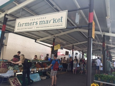 Ann Arbor Farmers' Market - #MittenTrip - Ann Arbor - The Awesome Mitten