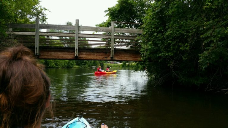 Kayaking the Huron River - #MittenTrip - Ann Arbor - The Awesome Mitten