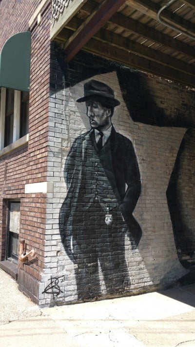 Street Art in Old Town Saginaw - #MittenTrip