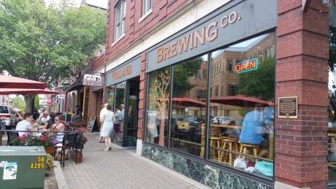 New Holland Brewing Company - #MittenTrip - GrandRapids