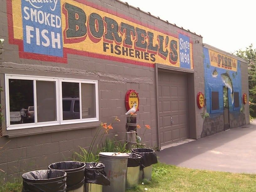 Bortell's Fish Fry in Ludington. Photo courtesy of Tim Chilcote - Awesome Mitten