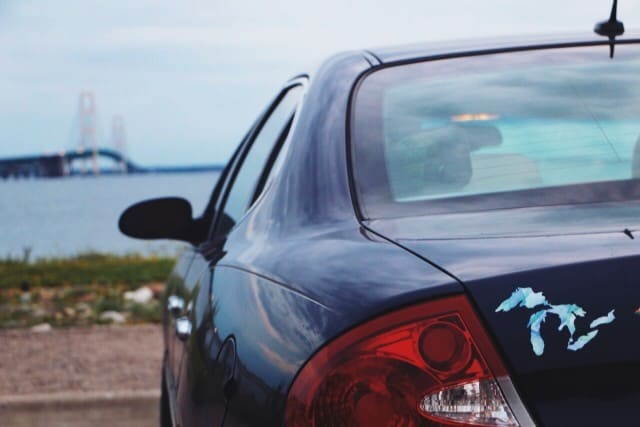 Great Lakes Proud Sticker Mackinac Bridge - #MittenTrip - Sault Ste Marie - The Awesome Mitten