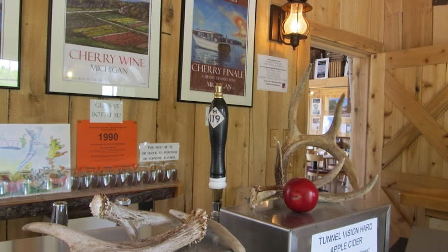 Inside Pond Hill Farm general store. Photo courtesy of Tim Chilcote - Awesome Mitten