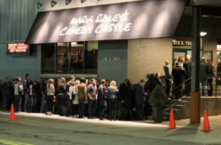 Good Times at Mark Ridley's Comedy Castle in Royal Oak