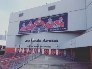 Photo Courtesy of Devin Brooks Joe Lewis Arena's Gordie Howe Entrance