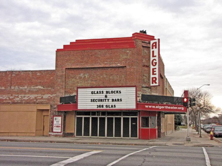 Alger Theater Detroit