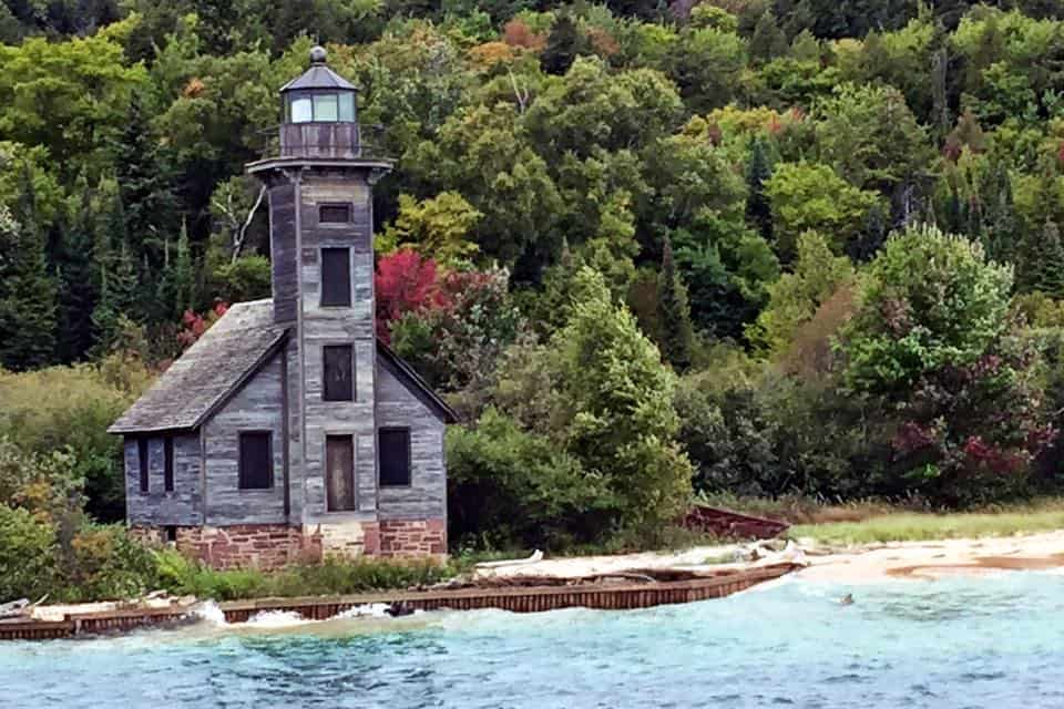 Lighthouse - #MittenTrip Munising - The Awesome Mitten