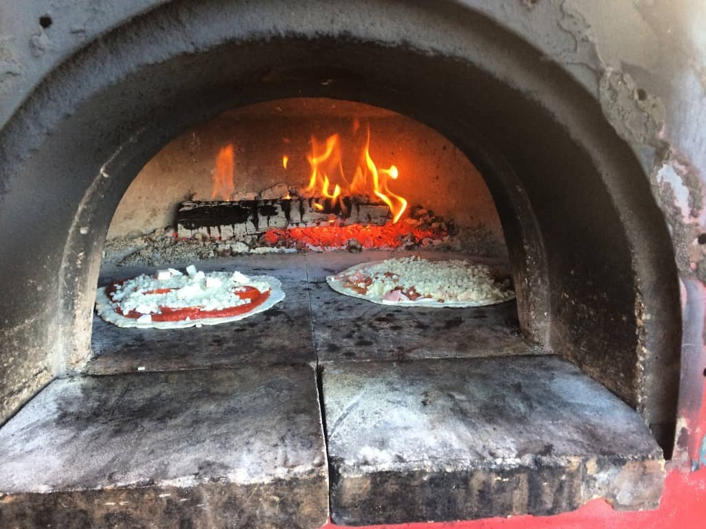 Woodfire Pizza - #MittenTrip Munising - The Awesome Mitten