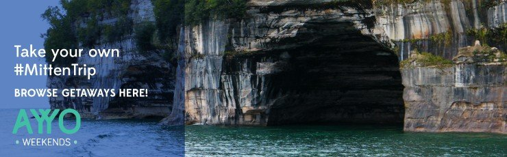 Munising Pictured Rocks - AYYO Weekends - The Awesome Mitten