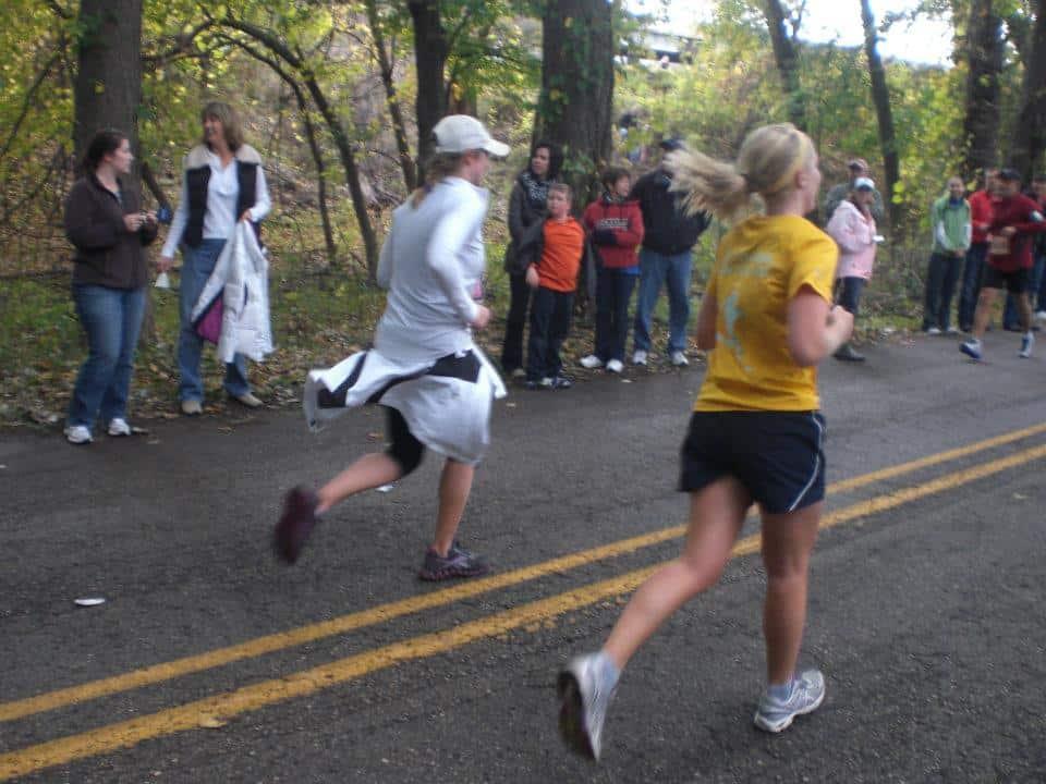 The overall goal ... keep moving! Photo courtesy of Katelyn Sandor.