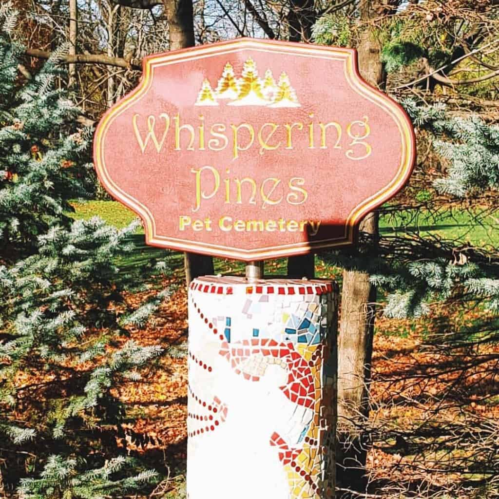 Whispering Pines Pet Cemetary - #MittenTrip - Ypsilanti - The Awesome Mitten