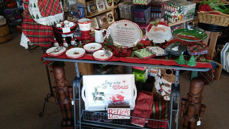 Anna's Gifts Holiday Display 2015