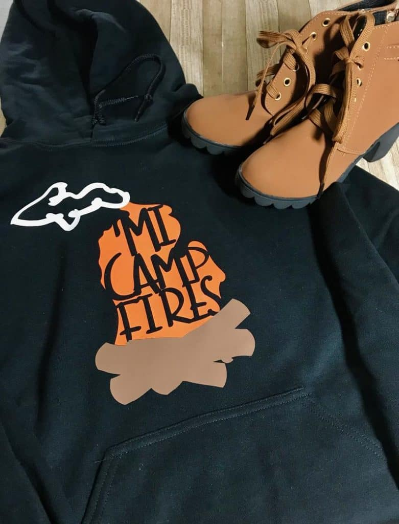 campfire hoodie Michigan Gift Guide for the Outdoor Adventurer