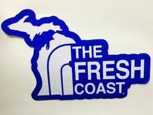 The Fresh Coast Sticker