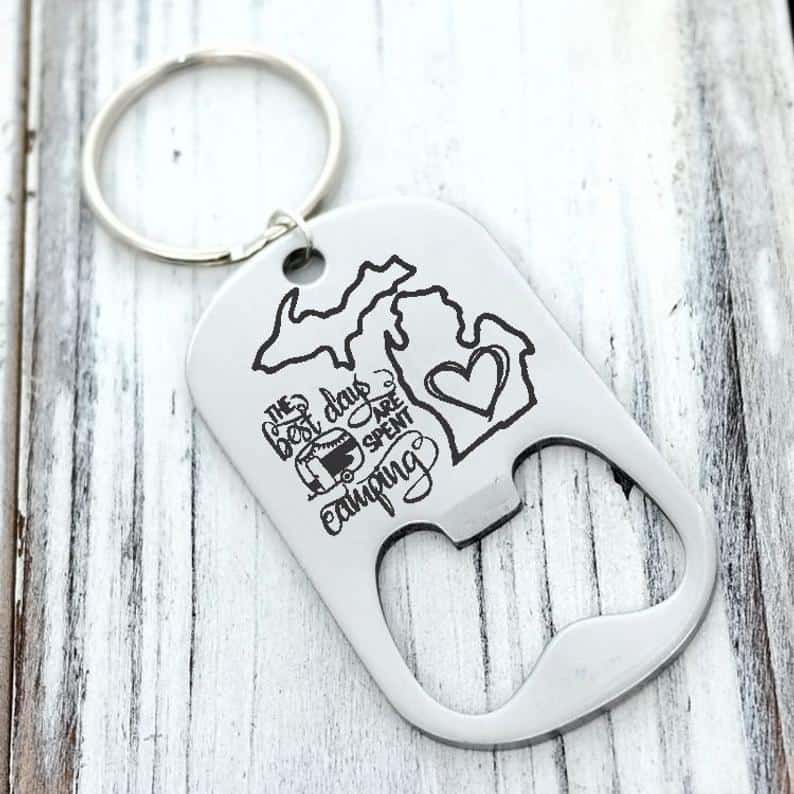 michigan can opener keychain Michigan Gift Guide for the Outdoor Adventurer