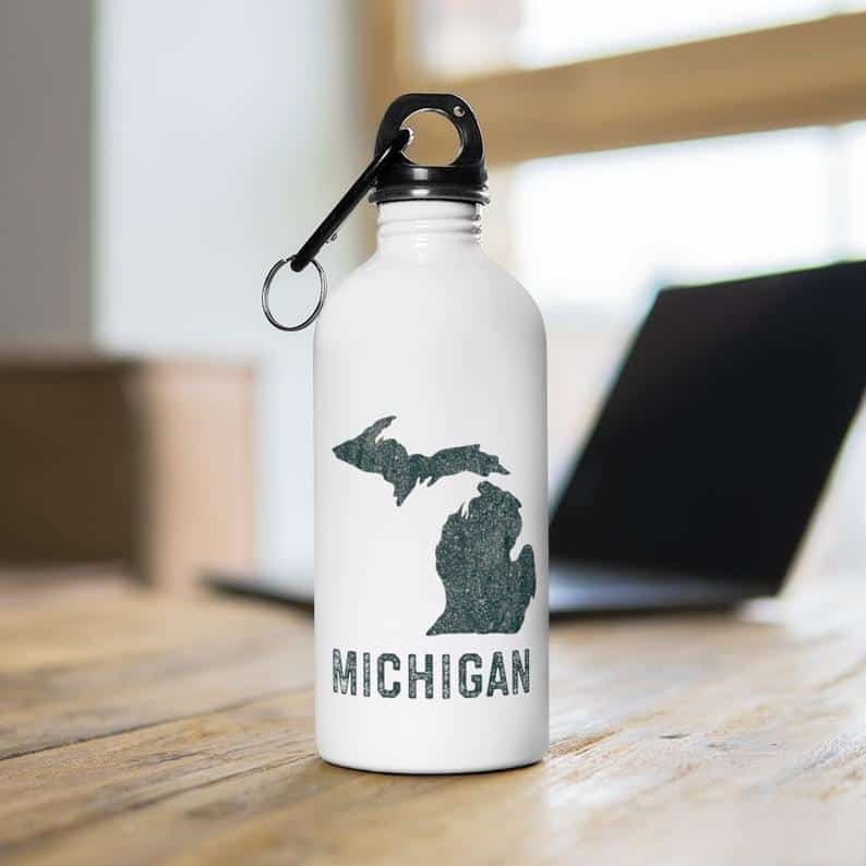 michigan water bottle Michigan Gift Guide for the Outdoor Adventurer
