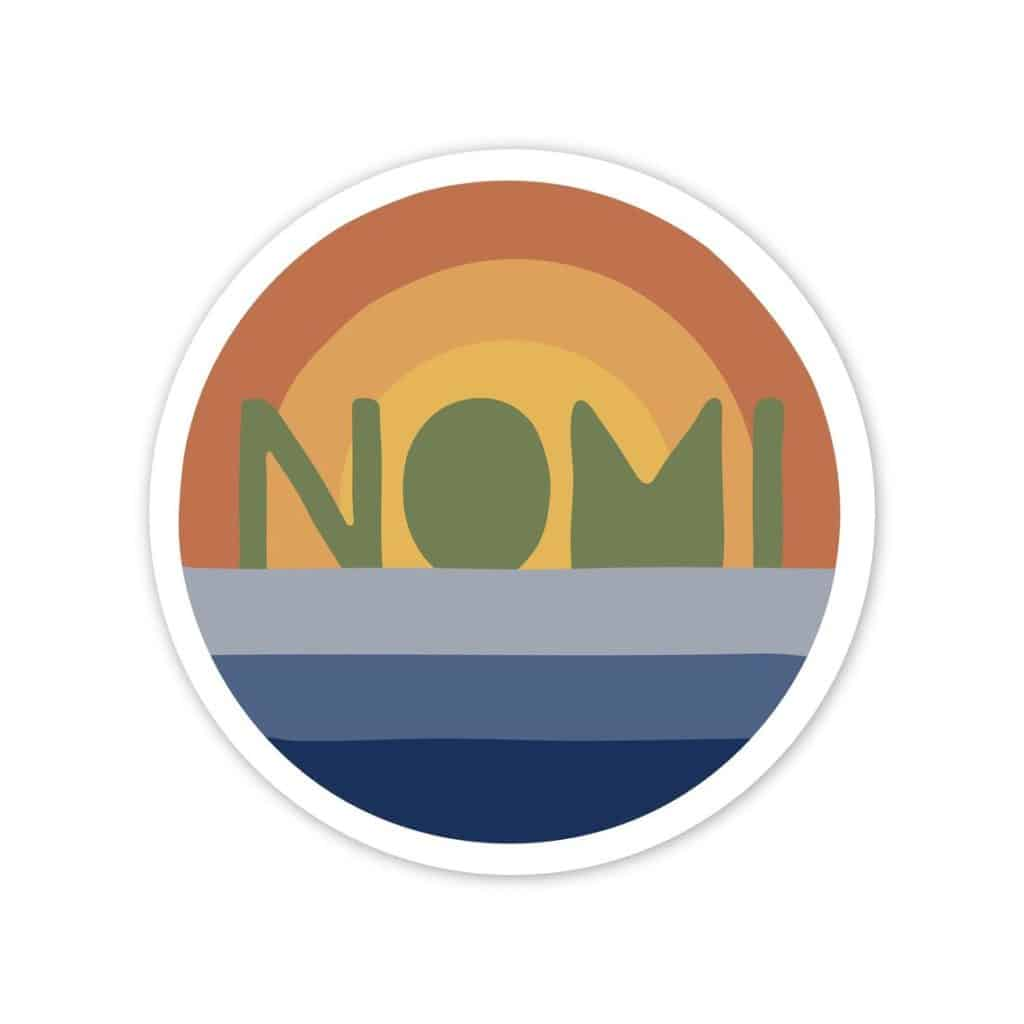 nomi sticker Michigan Gift Guide for the Outdoor Adventurer