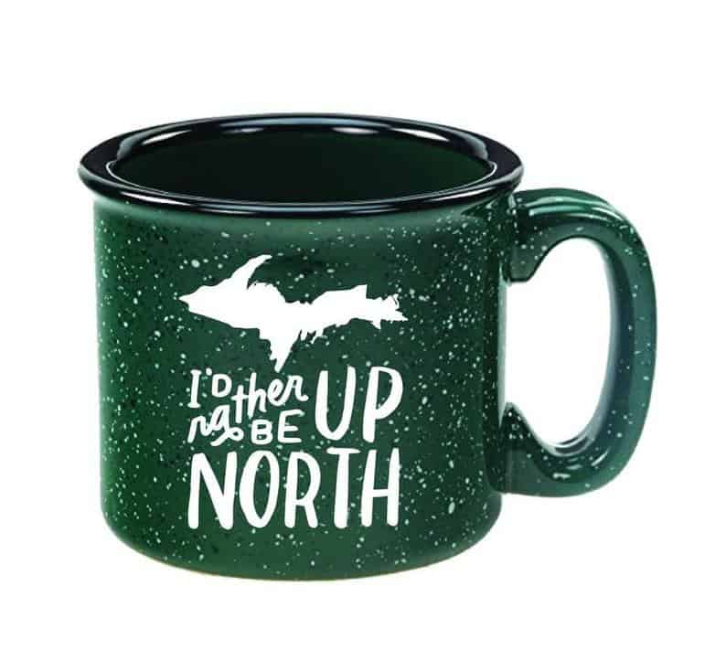 rather be up north mug Michigan Gift Guide for the Outdoor Adventurer