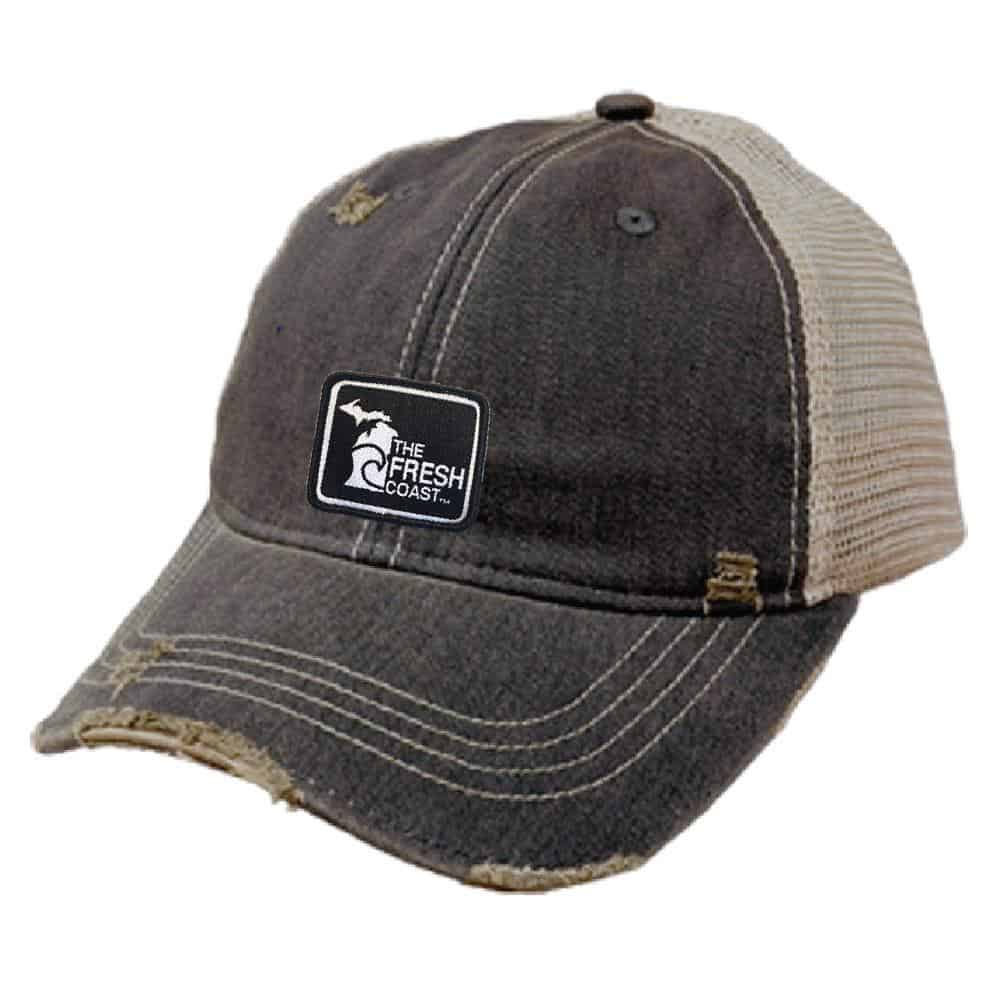the fresh coast distressed hat Michigan Gift Guide for the Outdoor Adventurer