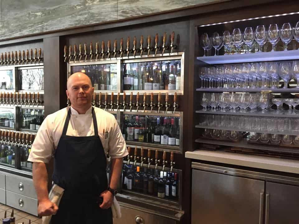 Josh Adams From Vault to Vino: Reserve Food & Wine Bar