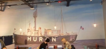 Hooked on Huron Room