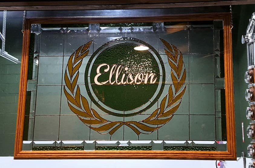 Ellison Brewery + Spirits. Photo courtesy of Jackie Mitchell