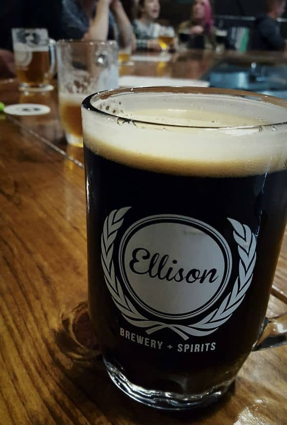 Ellison Brewery + Spirits. Photo courtesy of Jackie Mitchell