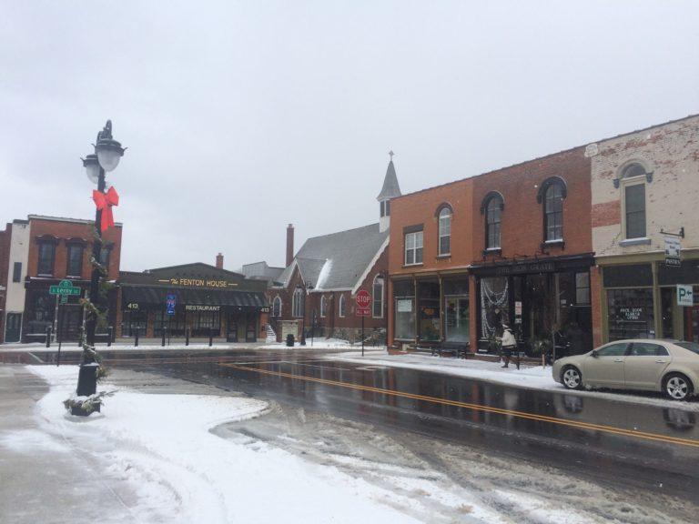 Downtown Fenton. Photo courtesy of Katie Nicpon