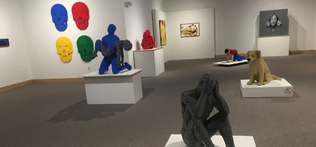 Art of the Brick at Ella Sharp Museum