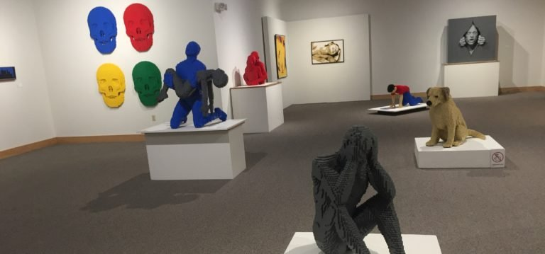 Art of the Brick at Ella Sharp Museum