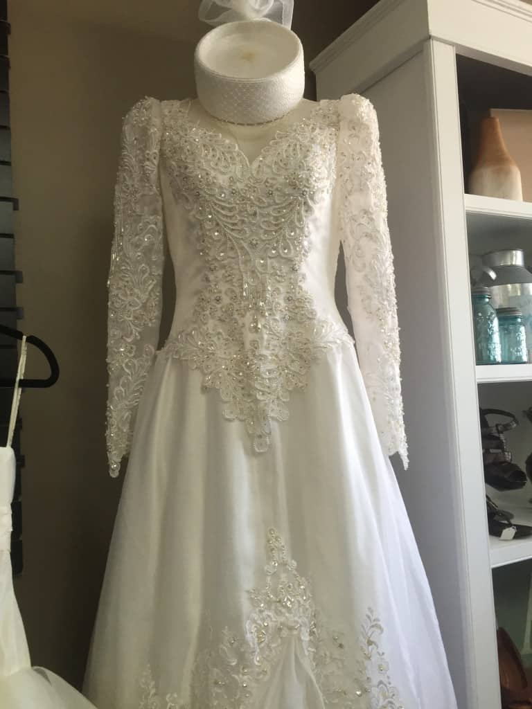 Wedding Dress at Angie's Attic