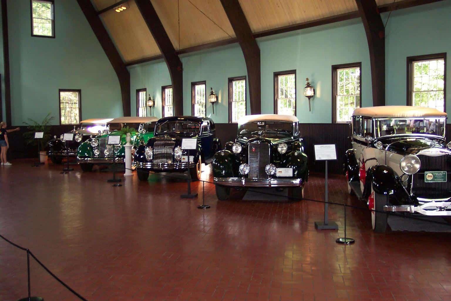 Visit the Gilmore Car Museum this spring break Michigan