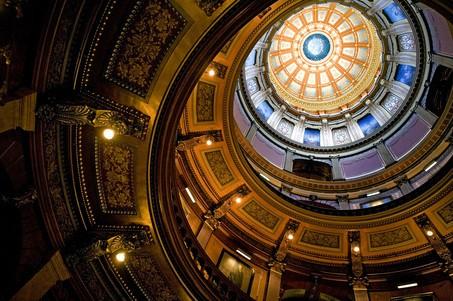 Michigan spring break ideas include touring the Michigan State Capitol Building