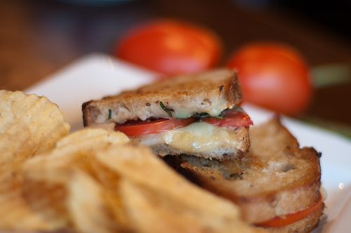 Royal Oak's Cafe Muse is home to a nationally-known, award-winning grilled cheese sandwich.