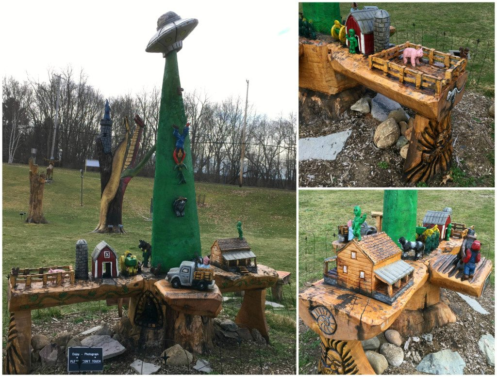 Old MacDonald gets abducted by aliens. Photos by Rhonda Greene.