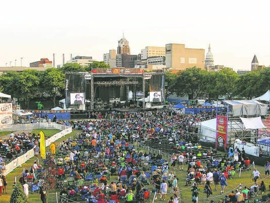 Common Ground Music Festival brings top-notch performers of many different genres to Lansing. Photo courtesy of Lansing State Journal