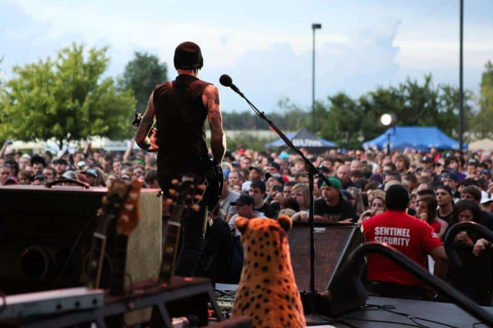 Metal, hardcore and hard rock bands perform at the Crofoot Festival Grounds. Photo courtesy of Fanzoot