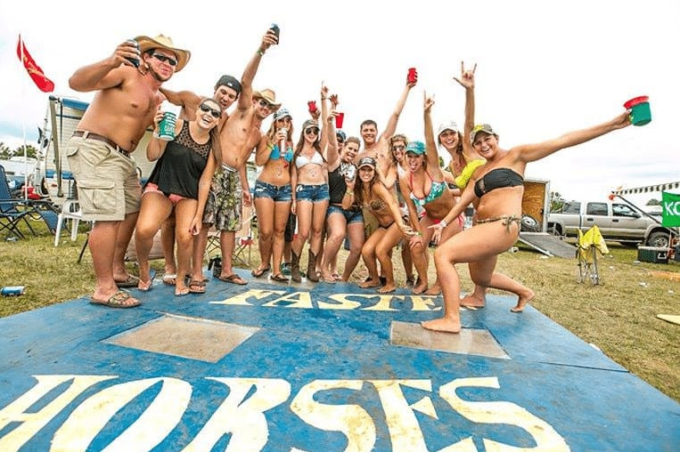 Faster Horses is three days of outdoor partying, tailgating and country music at MIS. Photo courtesy of Music Festival Wizard