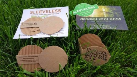 Meet Sustainable Coffee Sleeves by Sleeveless
