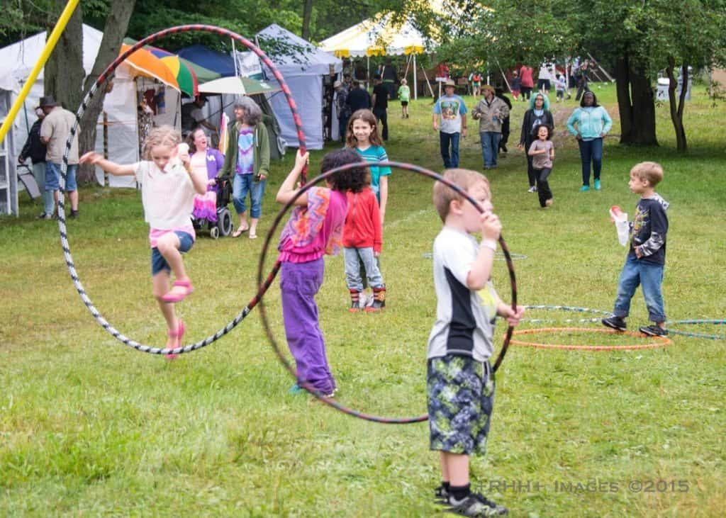 Buttermilk Jamboree is fun, friendly, and full of art and music for the whole family. Photo courtesy of Buttermilk Jamboree
