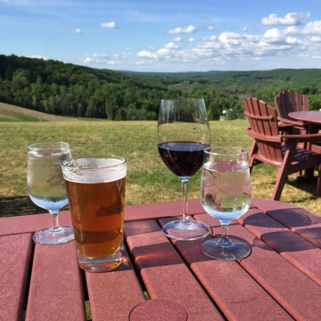 Dining with phenomenal views at Otsego Club in Gaylord