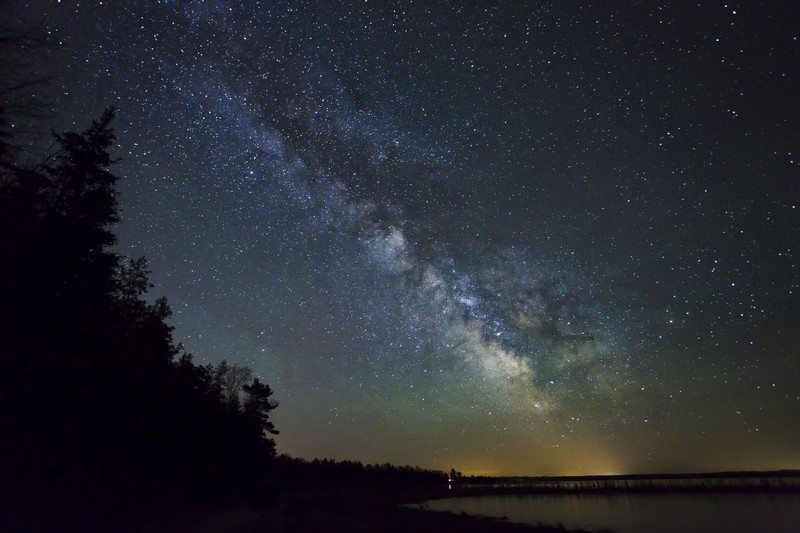 Dark Sky Milky Way. Photo courtesy of Headlands International Dark Sky Park