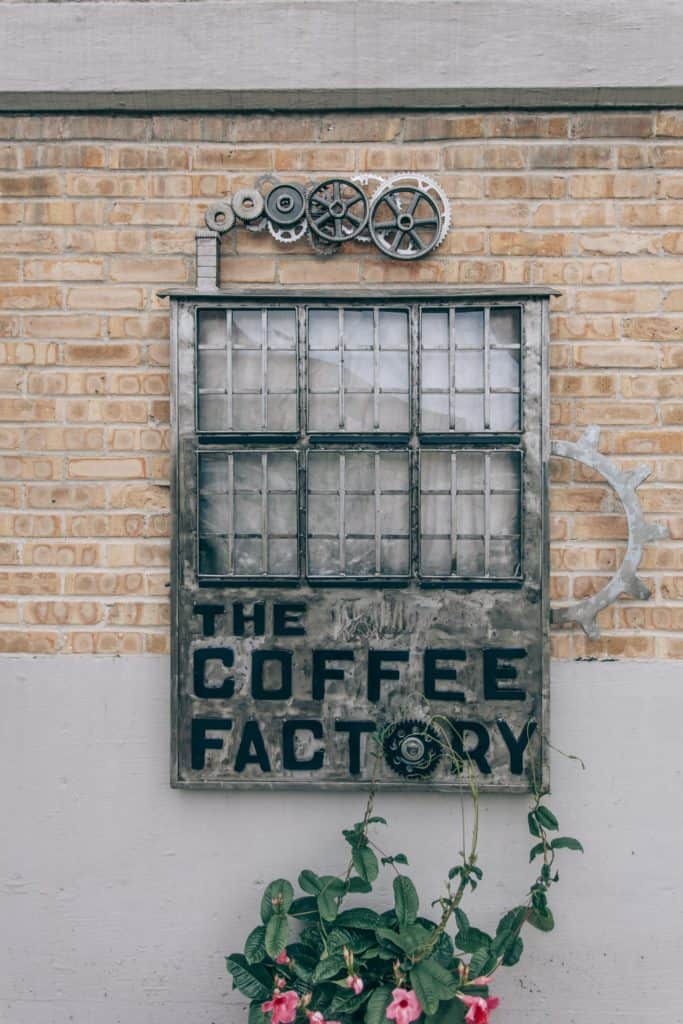 The Coffee Factory   Photo by Gideon Hunter