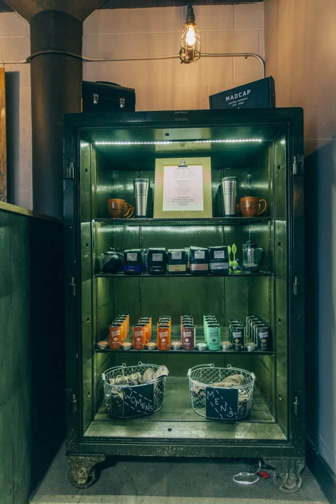 The Coffee Factory display case   Photo by Gideon Hunter