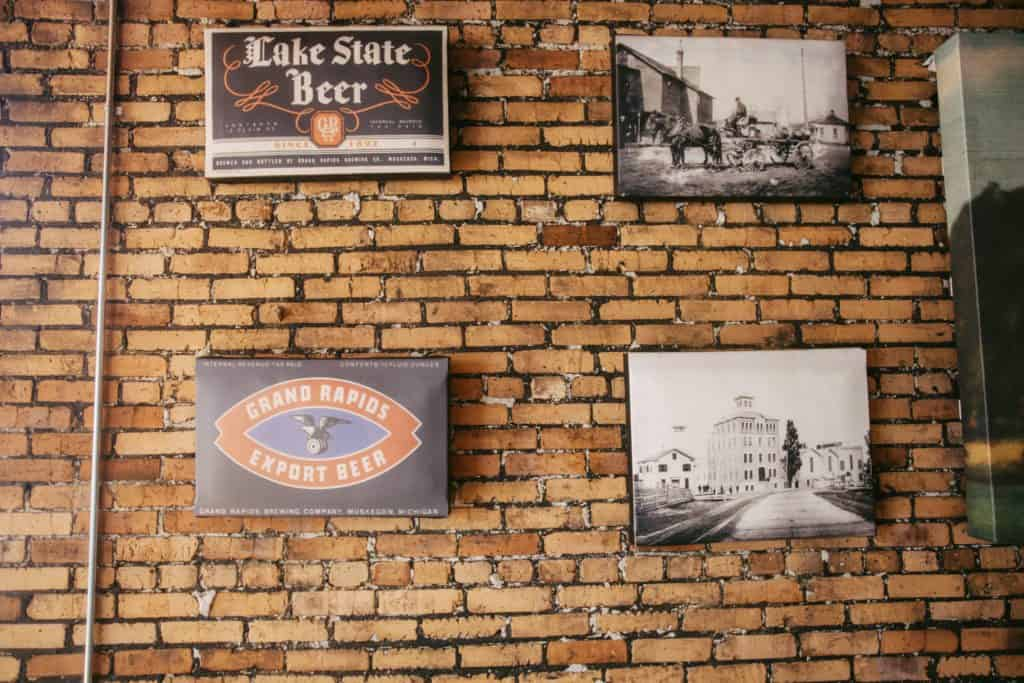 Pigeon Hill Brewing Company features local history in its decor   Photo by Gideon Hunter
